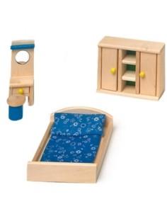 Mobili casa delle bambole-Camera da letto