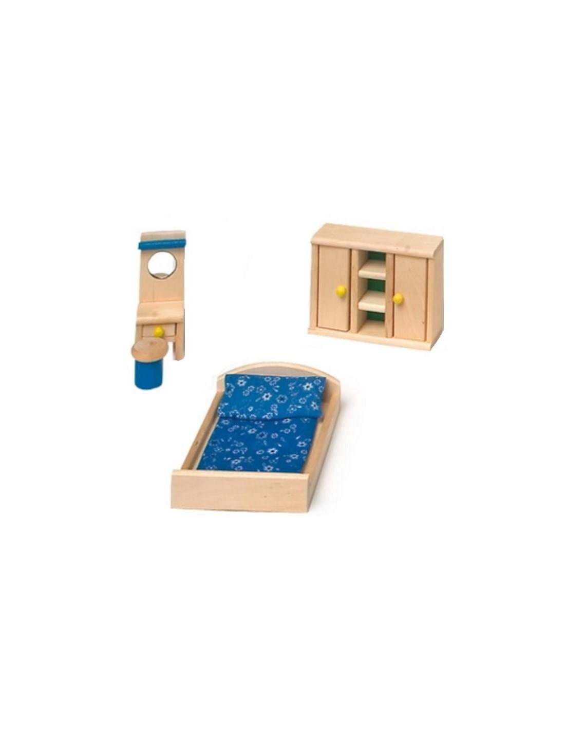 Mobili casa delle bambole camera da letto giocotherapy for Mobili arredamento camera da letto