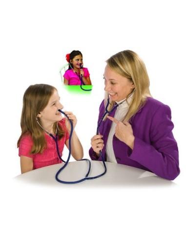 Doppio auscultatore orale e nasale