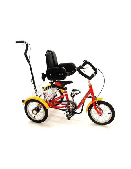 Triciclo Moschettiere adatto ai bambini disabili