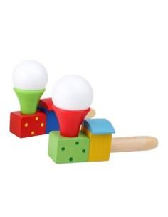 Pipa treno con palla da soffiare
