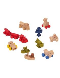 Giocattoli in legno per bambole