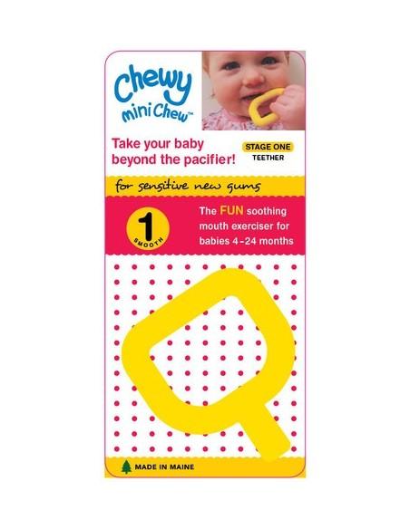 Dentaruolo Mini Chewy giallo