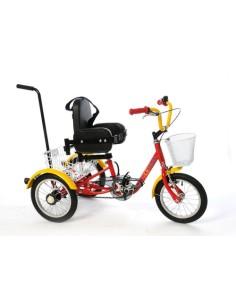Triciclo Musketeer con manubrio classico