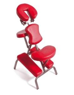 Sedia per trattamenti  massaggi Alluminio