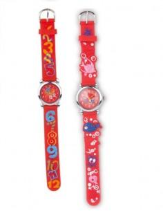 orologio-da polso-pesci-rosso-numeri