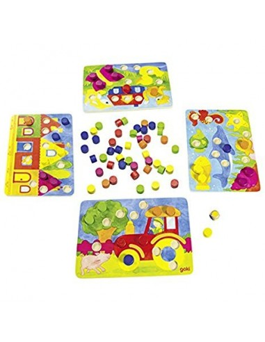 Goki Color Game