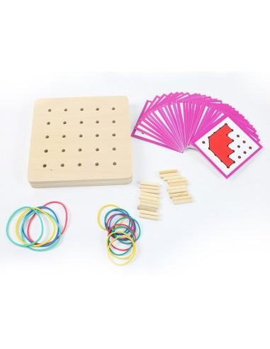 Mini Geopiano Montessori