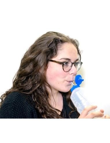 Bottiglia con cannuccia TalkTools per adulti