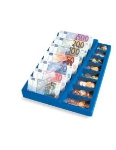 Barattolo euro monete e banconote