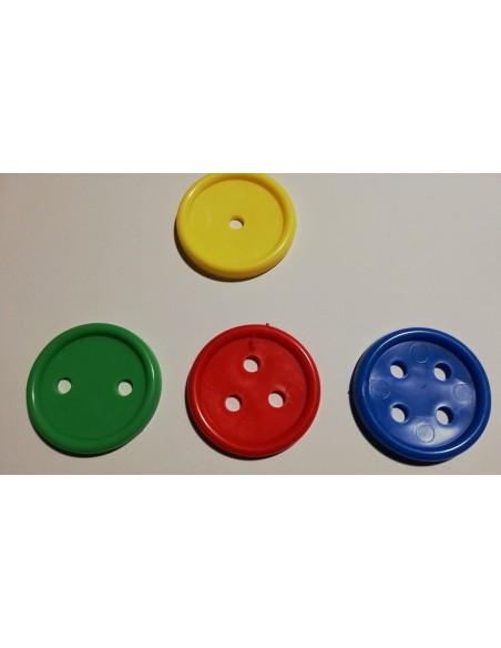Bottoni manipolativi grandi 96pz
