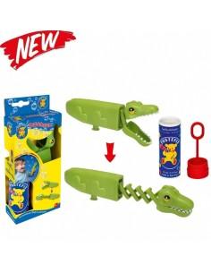 Coccodrillo mangia bolle Pustefix