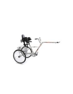 Triciclo Piggyback per bambini con esigenze speciali