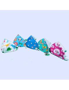 Mascherina Bambini Farfalle Lavabile
