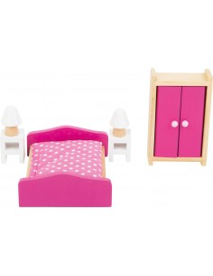 Mobili casa delle bambole Camera da letto