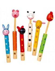 Flauto a cursore animale