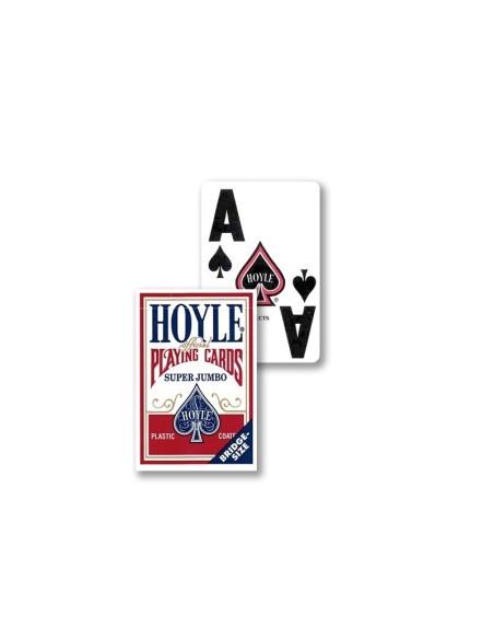 Carte da gioco per Ipovedenti Dorso Rosso