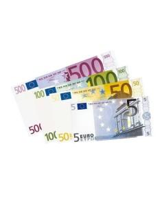 Banconote euro 144 pz.