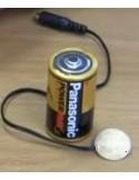 Adattatore per dispositivi a batteria tipo C o D