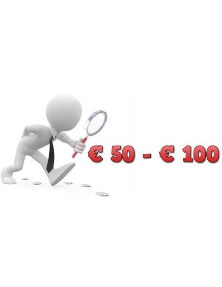 Tra 50€ e 100€